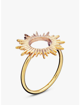 Rachel Jackson London Adjustable Sunray Ring, Gold by Rachel Jackson London