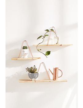Large Carter Gold Shelf by Urban Outfitters