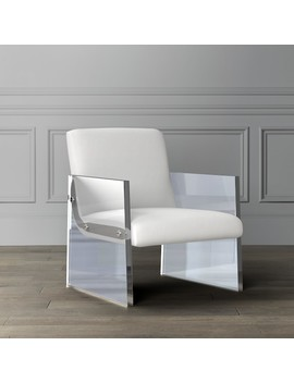 Carmel Acrylic Armchair by Williams   Sonoma