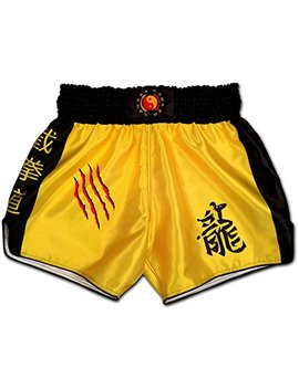 Muay Thai Shorts Jeet Kune Do Jkd Wing Chun Tsun Kung Fu Dragon Boxing Trunks Kickboxing Thaiboxing Mma by Muay Thai Shorts