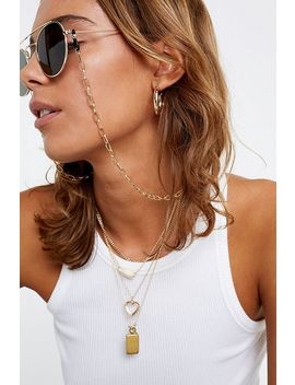 Square Link Sunglasses Chain by Urban Outfitters