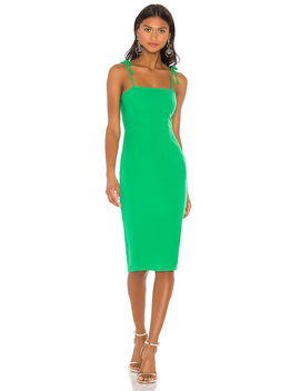 Kendall Tie Strap Midi Dress by Superdown
