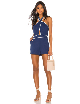 Coraline Halter Romper by Superdown
