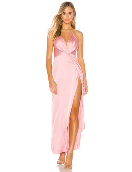 Blake High Slit Slip Dress by Superdown