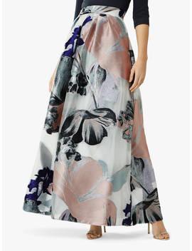 Coast Daphne Floral Jacquard Maxi Skirt, Multi by Coast