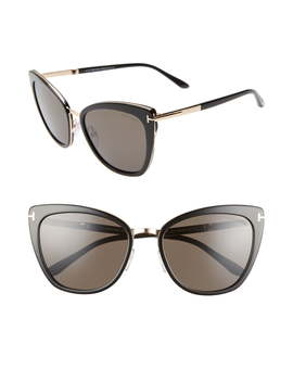 Simona 56mm Sunglasses by Tom Ford