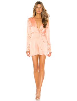 Armelle Wrap Dress by Superdown