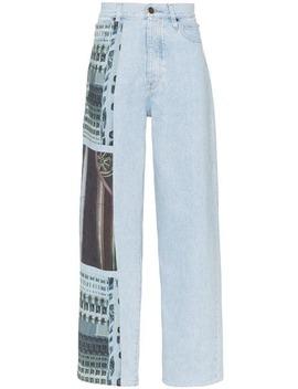 Jean Ample à Imprimé Graphique by Calvin Klein Jeans Est. 1978