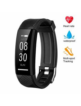 Dr.Fasting Instecho Fitness Tracker, Custom Activity Tracker With Heart Rate Monitor, Multiple Sport Modes Smart Watch Men, Women And Children Waterproof Bluetooth Pedometer by Dr.Fasting