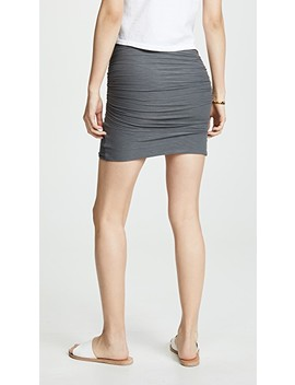 Wrap Miniskirt by James Perse