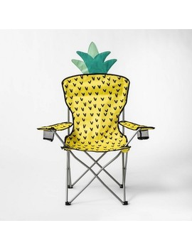Adult Camp Chair Pineapple   Sun Squad by Sun Squad