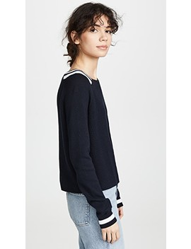 Varsity Sweater by Autumn Cashmere