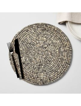 Natural Woven Charger by West Elm