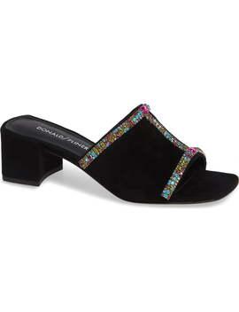 Bete Crystal Embellished Slide Sandal by Donald Pliner