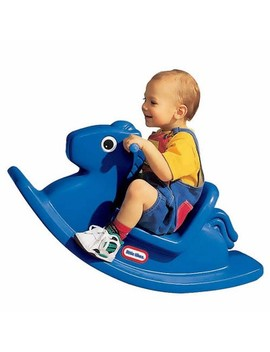 Little Tikes Rocking Horse Primary Blue by Little Tikes