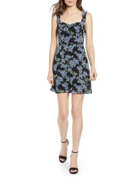 Stella Ruffle Strap Minidress by All In Favor