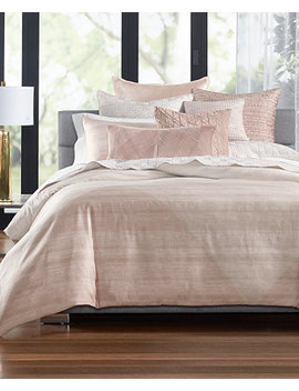 Woodrose Cotton 400 Thread Count King Duvet Cover, Created For Macy's by Hotel Collection