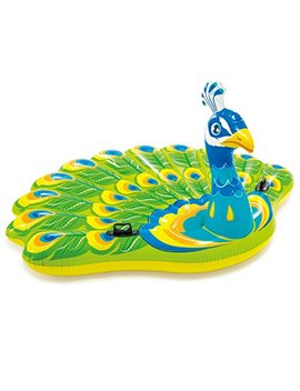 """Intex Peacock Inflatable Island, 76"""" X 64"""" X 37"""", For Ages 6+ by Intex"""