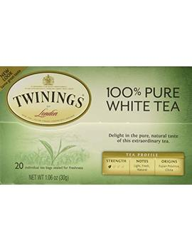 "Twinings Of London""Fujian Chinese Pure White Tea"" : Box Of 20 Tea Bags by Twinings"