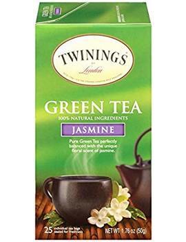 Twinings Of London Jasmine Green Tea Bags, 25 Count by Twinings