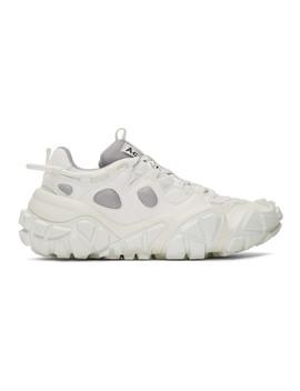 White Blozter W Sneakers by Acne Studios