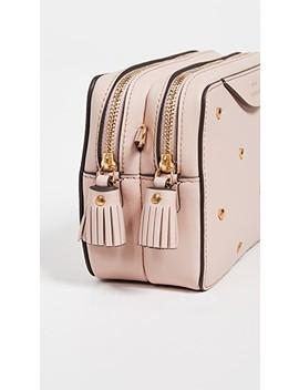 Hexagon Double Zip Wallet Bag by Anya Hindmarch