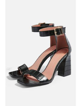 **Wide Fit Suki Two Part Sandals by Topshop