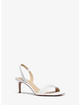 Mila Studded Leather Sandal by Michael Michael Kors