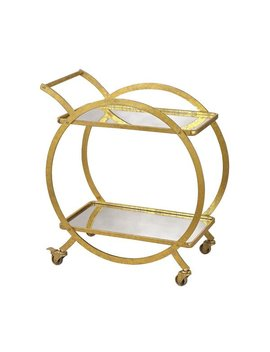 Sterling Ring Bar Cart by Sterling