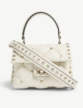 Candystud Mini Leather Shoulder Bag by Valentino