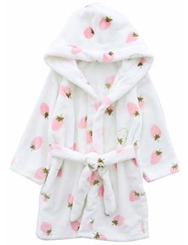 Betusline Unisex Kids Baby Flannel Bathrobes by Betusline Kids