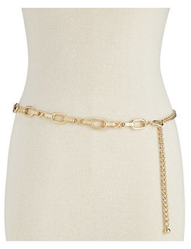 I.N.C. Metal Chain Belt, Created For Macy's by Inc International Concepts