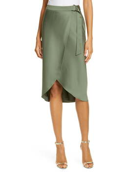 Aleyxa Belted Wrap Skirt by Ted Baker London