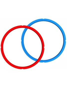 Instant Pot Sealing Rings Red/Blue Combo Pack by Instant Pot