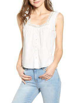 Emery Embroidered Lace Top by Heartloom