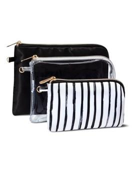 Sonia Kashuk 3pc Purse Kit Set   Black/Stripe by Black/Stripe