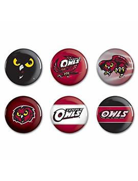 "Ncaa Temple University Wcr54087011 Round Button (6 Pack), 2"" by Win Craft"