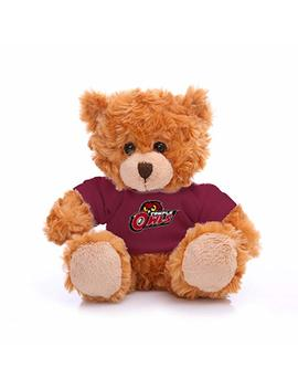 "Plushland Ncaa Collegiate Jersey Bear 6"" – Team Sports Vivid Clear Color Toy, Stuffed Animals Toy, State University, School Logo Kids, Bulk Parties Edition (Temple University) by Plushland"