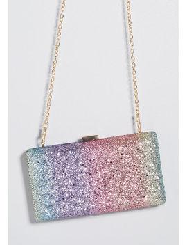 Always Shining Glitter Clutch by Modcloth