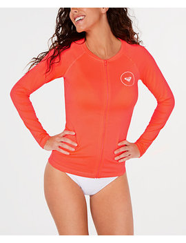 Juniors' Logo Rash Guard by Roxy