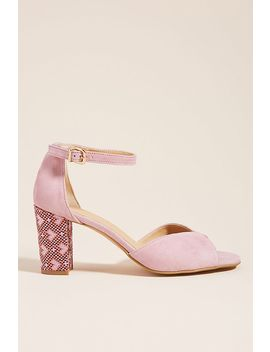 Anthropologie Christie Printed Heeled Sandals by Anthropologie