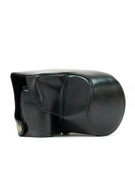 "Mega Gear ""Ever Ready"" Protective Leather Camera Case, Bag For Panasonic Fz1000 (Black) by Mega Gear"