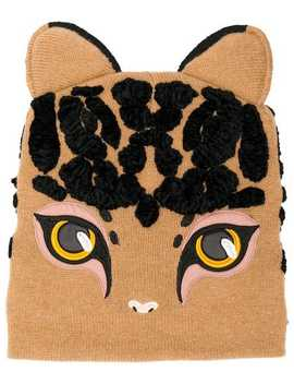 Cat Shaped Beanie by Dolce & Gabbana