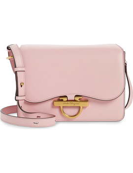 Medium Joanne Leather Shoulder Bag by Salvatore Ferragamo
