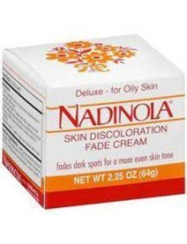 Nadinola Deluxe Skin Discoloration Fade Cream For Oily Skin 2.25 Oz (Pack Of 2) by Amazon