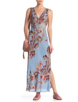 Never Too Late Floral Maxi Dress by Free People