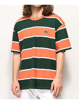 Obey Acid Classic Orange &Amp; Green T Shirt by Obey