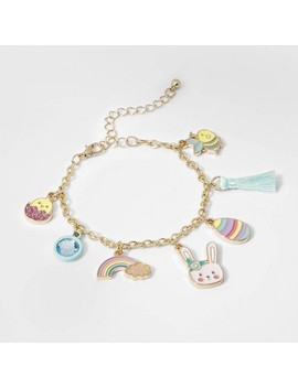 Girls' Easter Theme Charm Bracelet   Cat &Amp; Jack Gold by Cat & Jack Gold
