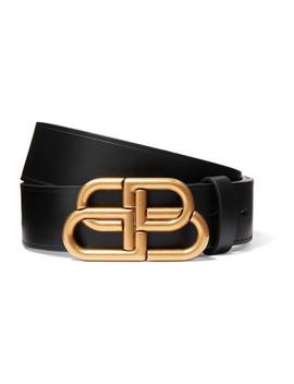 Leather Belt by Balenciaga