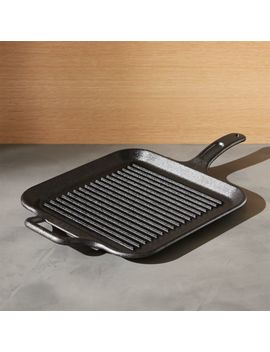 Lodge ® Cast Iron Grill Pan by Crate&Barrel